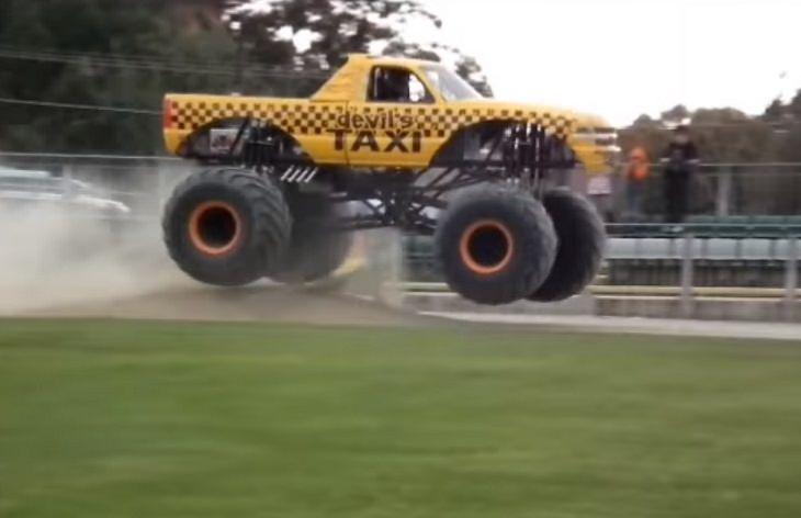 Táxis bizarros pelo mundo todo táxi monstro, Austrália