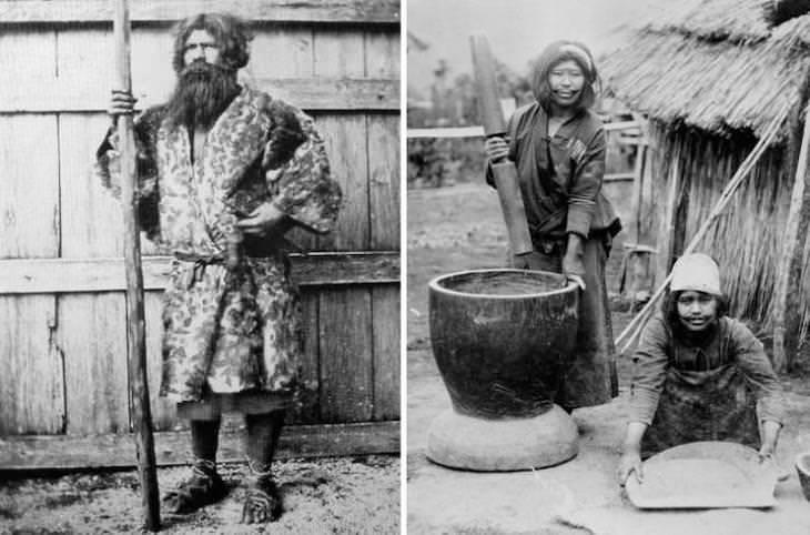 Pessoas na virada do século 20 ao redor do mundo