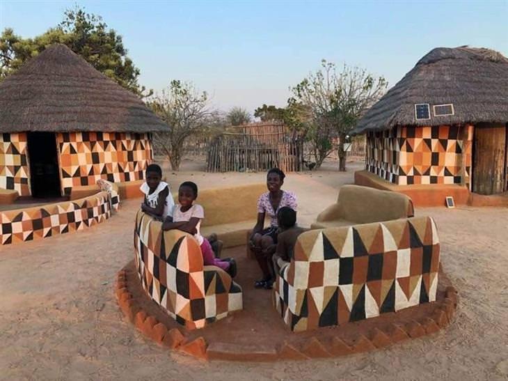 Casas na África