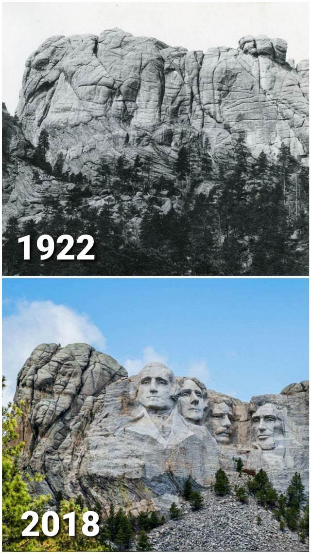 comparações de fotos históricas