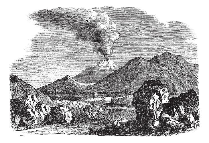 536 DC - o pior ano da história humana, erupção vulcânica