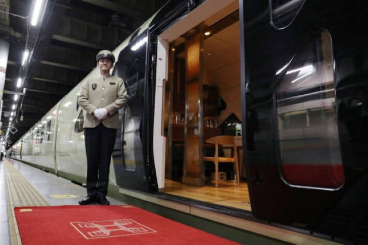 Shiki-shima - O trem mais luxuoso do mundo