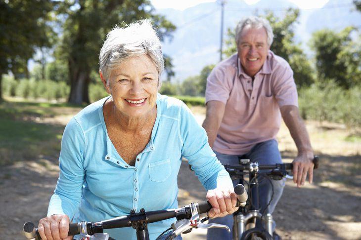 Benefícios do ciclismo para idosos