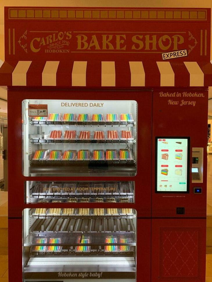 Máquinas de venda automática