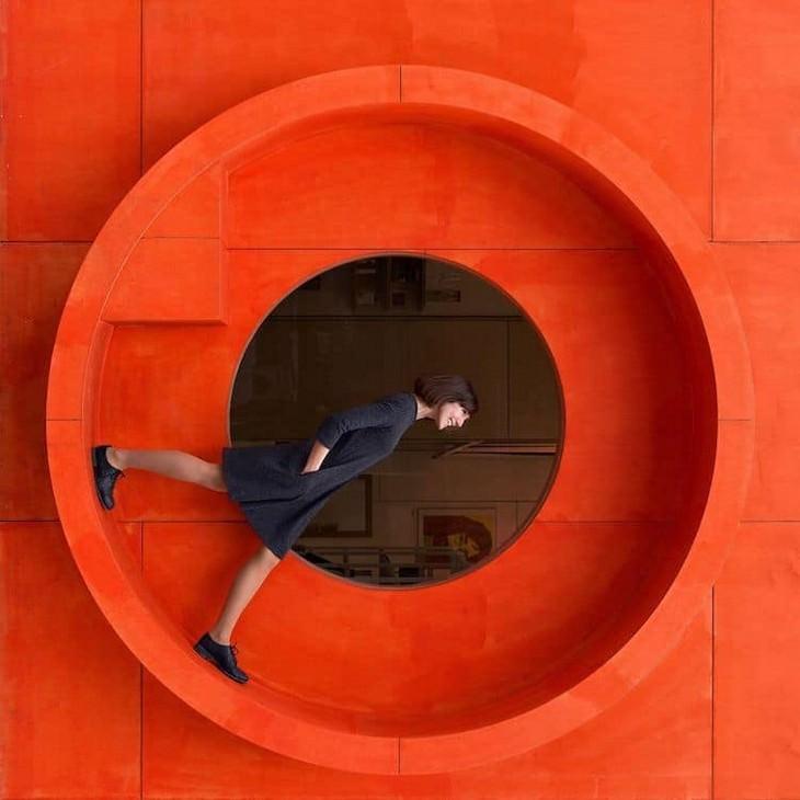 15 imagens que brincam com a arquitetura