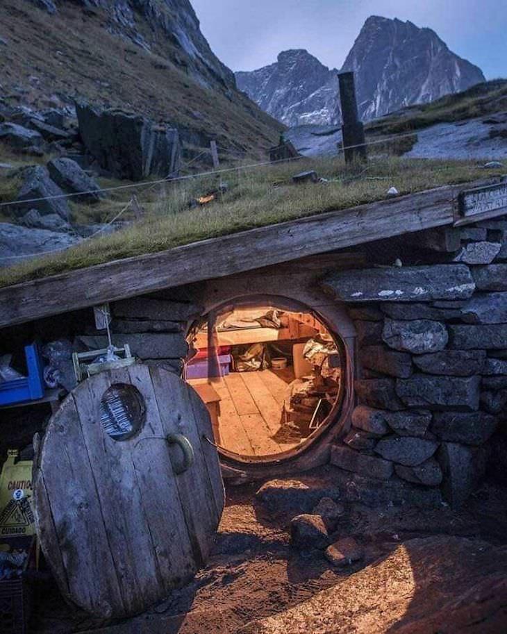 Cabanas na natureza encantadora ao redor do mundo