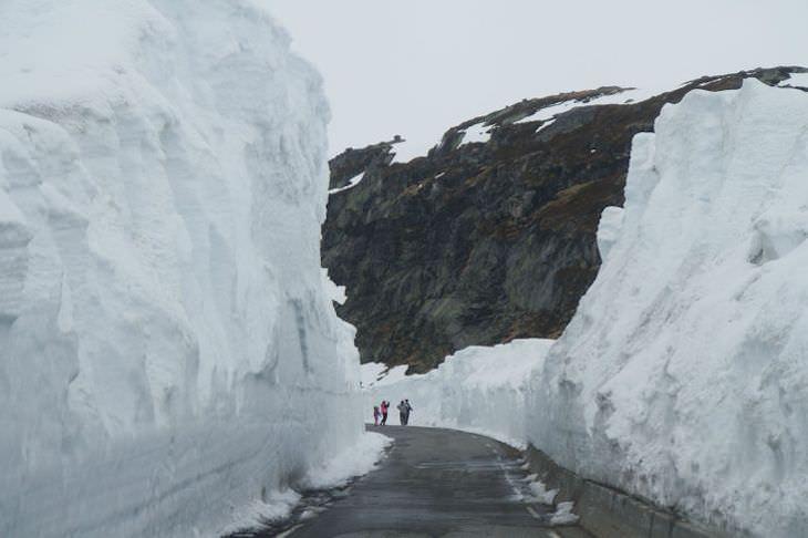 Vida na Noruega em 14 fascinantes imagens