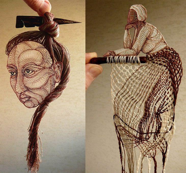 A incrível arte em renda de Agnes Herczeg