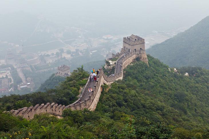 8 fatos fascinantes sobre a Grande Muralha da China