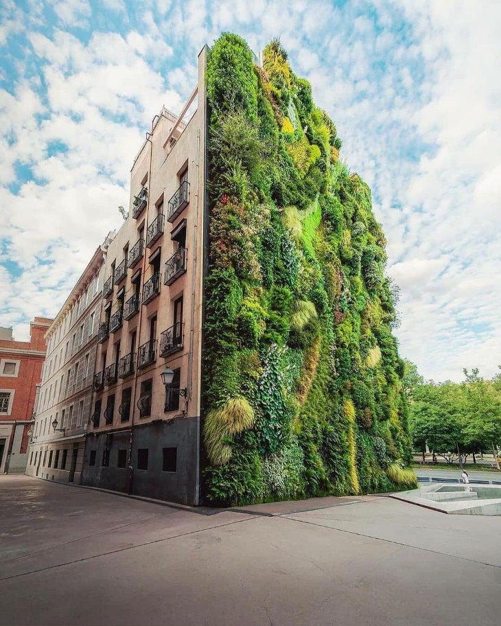 Edifícios verdes e maravilhas arquitetônicas