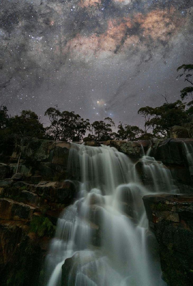 Fotos de contos de fadas, Via Láctea ...