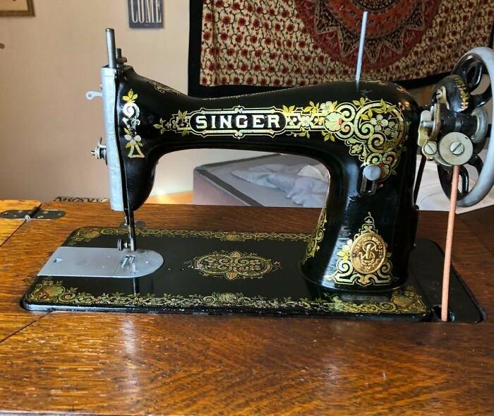 Máquina de costura Singer de 1916