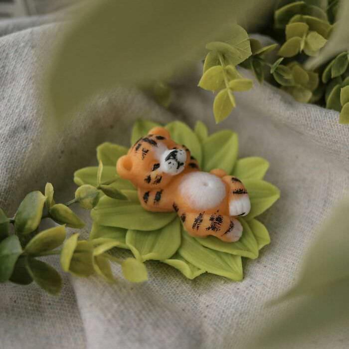 esculturas de bichinhos de sabonete