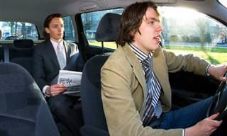 Piada: Uma corrida de táxi
