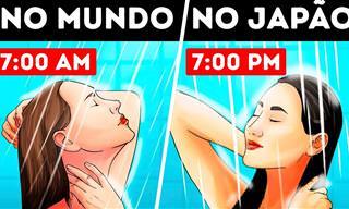 Por que muitos japoneses tomam banho à noite