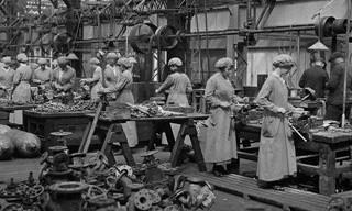 A Contribuição e Esforço das Mulheres na Primeira Guerra Mundial