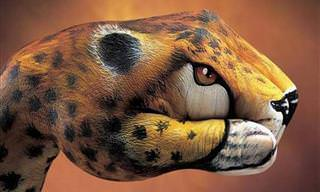 Incrível! Este Artista Desenha Sobre As Mãos Humanas