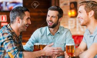 Piada: Confidências entre amigos de bar