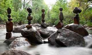 O Perfeito Equilíbrio das Pedras