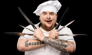 Piada: O malabarista de facas