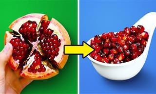 Aprenda como cortar frutas e legumes de forma rápida!