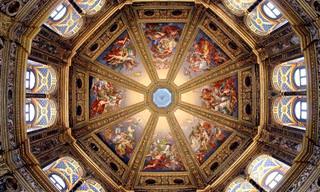 Majestosos Tetos de Igrejas Pelo Mundo