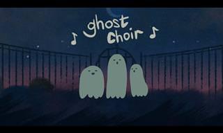 Uma balada fantasmicamente romântica para você...