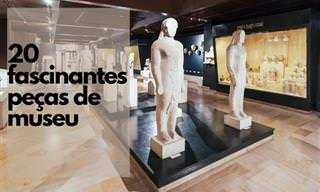 20 exclusivos artefatos de museu com histórias incríveis
