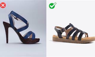 Como Escolher o Melhor Calçado Para Dias Quentes