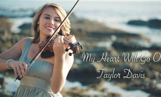 Essa violinista vai te emocionar com um clássico do cinema