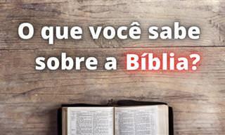 Você venceria nosso desafio sobre conhecimentos bíblicos?