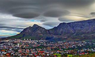 Formações de Nuvens de Tirar o Fôlego