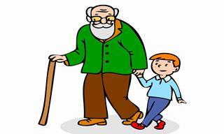 Piada boa: O neto e o avô