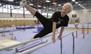 A Ginasta de 86 Anos