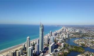 A Austrália é ainda mais impressionante quando vista de cima!