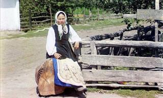 Fotos Históricas da Rússia em Cores