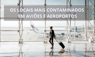 Cuidado com esses focos de contaminação em aeroportos