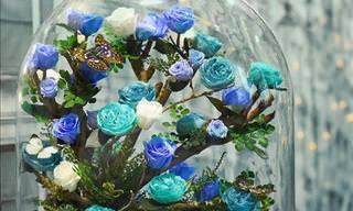 Conheça as Belas Rosas Que Duram Uma Eternidade...