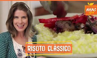 Que tal um risoto clássico e fácil de preparar?