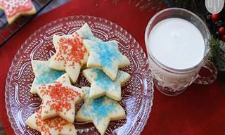 Receita Fácil de Biscoitos Decorados de Natal