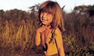 Tippi Degré, a Menina da Selva
