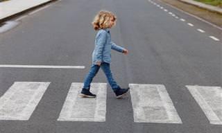 Por Que Não Deixar Seu Filho Atravessar Uma Rua Sozinho