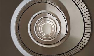 Deixe Seu Olhar Fluir Nessas Incríveis Escadas em Espiral