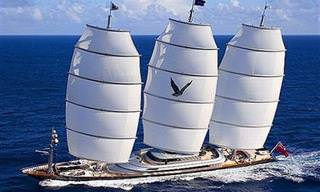 Falcão Maltês: Luxo, Design e Desempenho Deste Incrível Iate!