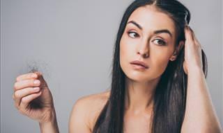 Hábitos Comuns Que Causam Queda de Cabelo