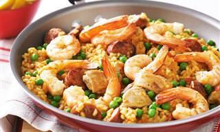 Receita Deliciosa: Tradicional Paella Espanhola