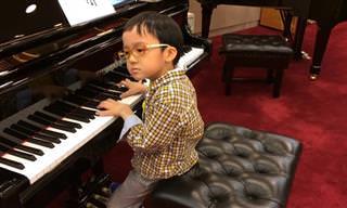 Menino prodígio de 5 anos toca Chopin como um mestre