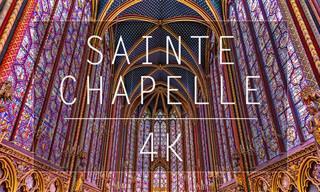 Sainte-Chapelle - a beleza gótica em tecnologia 4K