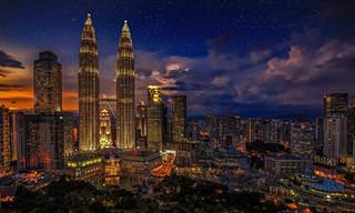 Um dia e uma noite em Kuala Lumpur, a capital da Malásia!