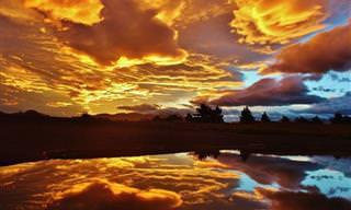 O Pôr do Sol é Um Espetáculo da Natureza!
